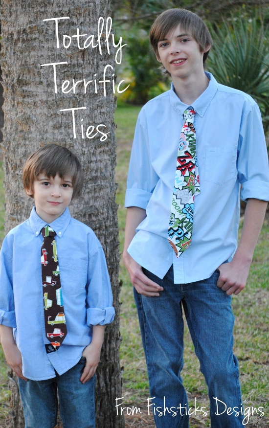 The Totally Terrific Tie Tutorial