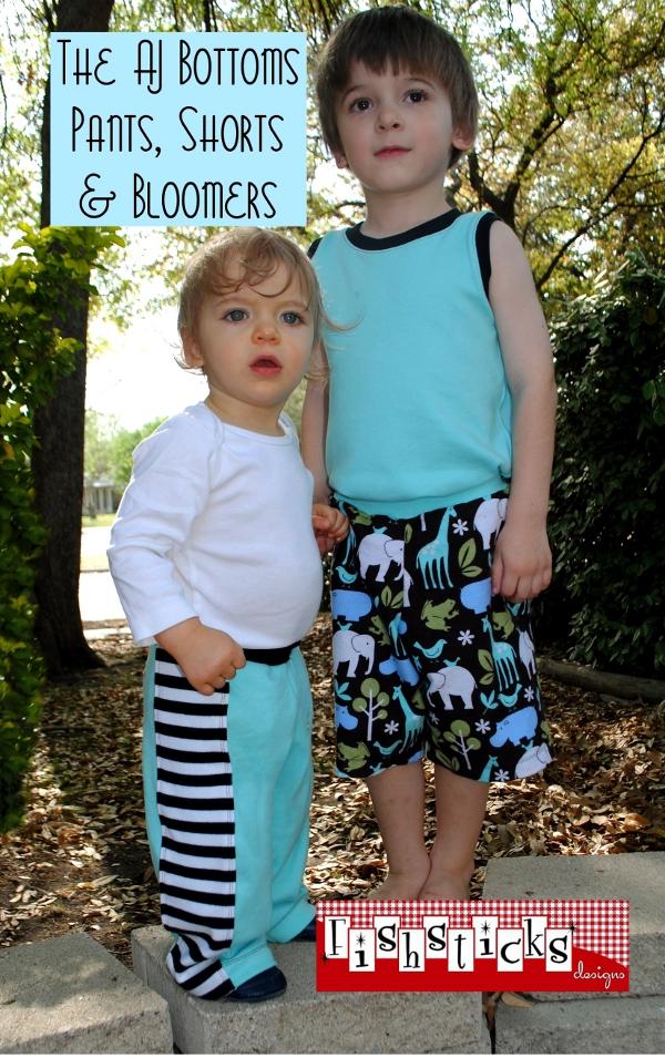 AJ Bottoms Pants, Shorts & Bloomers