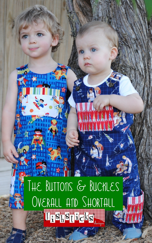 Buttons & Buckles Overall and Shortall