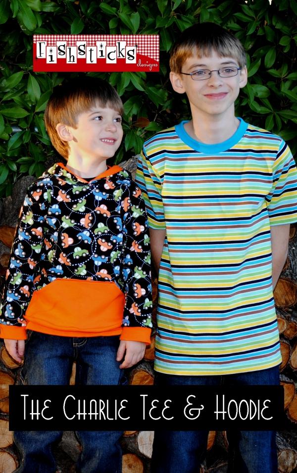 Charlie Tee & Hoodie Big Kids