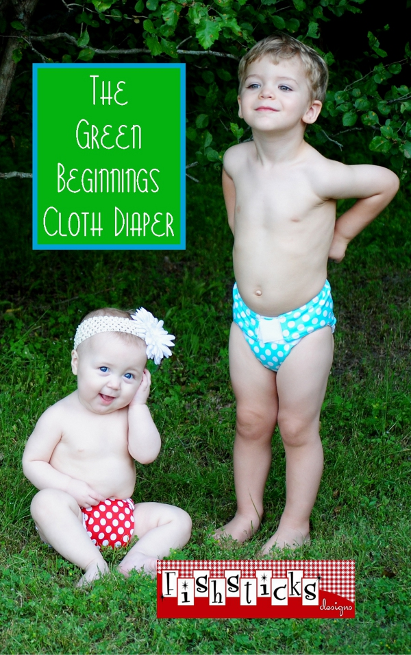 The Green Beginnings Cloth Diaper