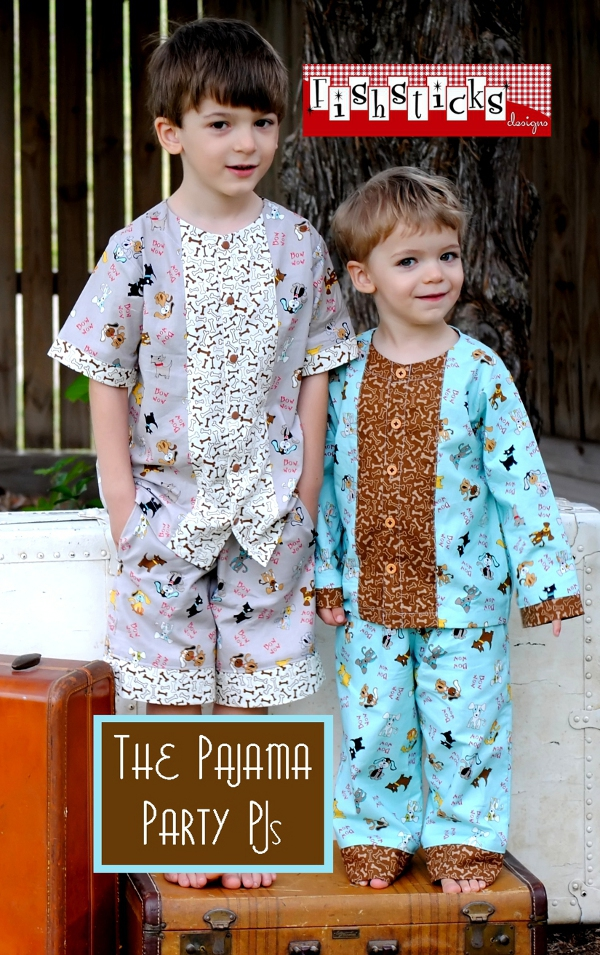 The Pajama Party PJs Infant & Toddler Sizes