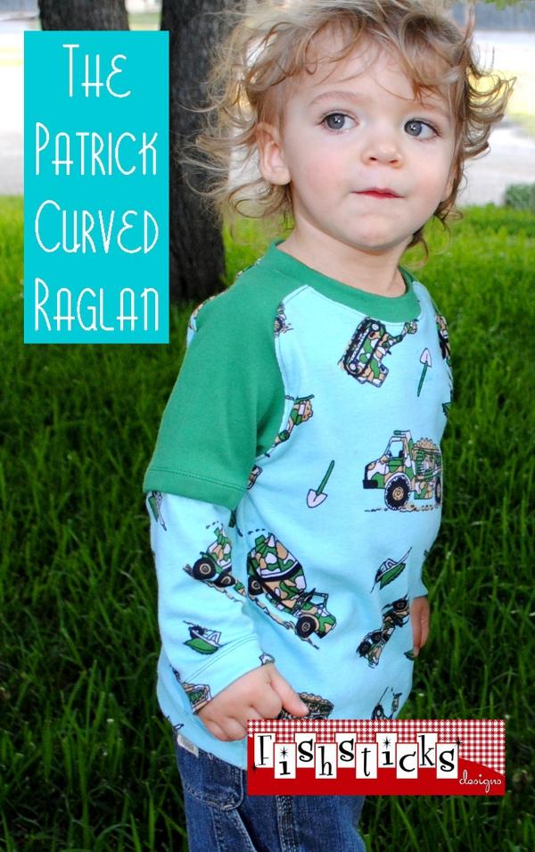 Patrick Curved Raglan Infant/Toddler