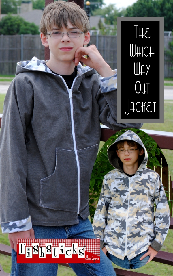 Which Way Out Jacket Big Kid